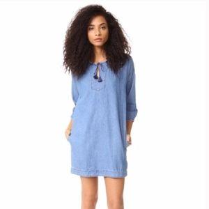 Madewell Denim Artiste Tunic Dress
